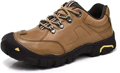 GBZLFH Scarpe da trekking per esterni, Scarpe da passeggio per uomo, Sneakers allacciate traspiranti antiscivolo, adatte per la corsa in palestra