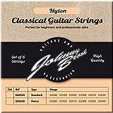JOHNNY BROOK Set of 6 High Quality Nylon Classical Guitar Strings (Standard Gauge)