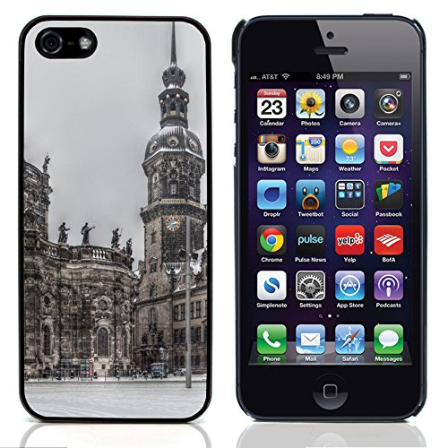 Graphic4You Bavaria Germany Postkarte Ansichtskarte Design Harte Hülle Case Tasche Schutzhülle für Apple iPhone 5 und 5S Design #1