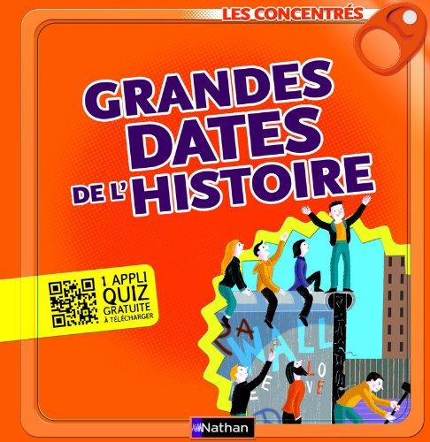 Grandes dates de l'Histoire