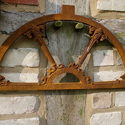 Antikas - Eisenfenster, Stallfenster für Gartenmauer, Fenster Roje new
