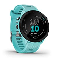 """Garmin Forerunner 55 – GPS-Laufuhr mit 1,04"""" Always-On-Farbdisplay, täglichen Trainingsempfehlungen, Laufzeitprognose…"""