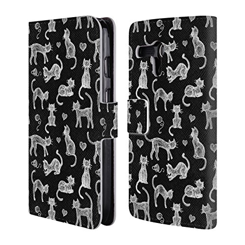 official-micklyn-le-feuvre-teachers-pet-chalkboard-cats-animals-leather-book-wallet-case-cover-for-m