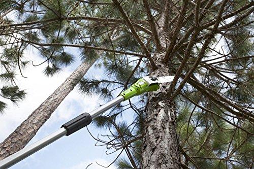 Greenworks Tools 20157 40V Akku-Hochentaster/Astschere 20cm, anpassbare Länge (ohne Akku und Lader) - 6
