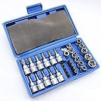 Außen Torx Nüsse Set 7-tlg Steckschlüssel Satz Werkzeug Schrauben Dreher Bits