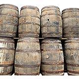 Cheeky Chicks Gerecycled Rustiek Massief Eiken Whisky & Biervat Houten Vat voor Buitentuin | 40 Gallon | Set van 3 door Cheeky Chicks Ltd