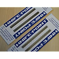 2 Sets of Replacement Compatible Bosch Planer Blades / Bosch Hobelmesser (2 per Pack) (To Fit: Bosch PHO & GHO Planers) (Compatible to Bosch Pt. No. 2607000096) Solid Tungsten Carbide, Mirror Finish & Precision Ground, Fast Despatch