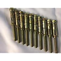 multicolore M8/ Fixman 717731/Masonry Shield ancoraggio bulloni /8.5/x 60/mm 10PK