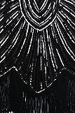 BABEYOND Damen Kleid voller Paillet...