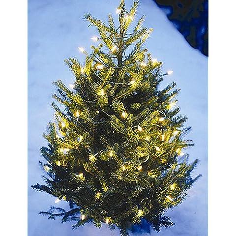 XMQC*7M 50LED luces de cadena Solar Decoración de Navidad luces luces impermeables , azul-otros