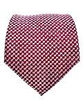 #9: Blacksmith Red Polka Dot Tie for Men - Red Tie for Men - Red Formal Tie For Men - Red Tie for Men