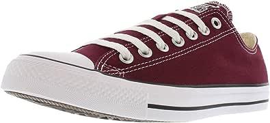 Converse CT OX Unisex Moda Sneakers Borgogna