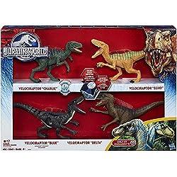 Hasbro Velociraptor de Jurassic World Pack de 4
