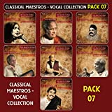 #6: The Masterworks Compilation pack-7 (Featuring Legendary Artists From Hindustani Classical Music, Set Of 7 Cds With 30 Tracks)