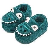 Pantofole Peluche Dinosauro del Fumetto per Ragazzi e Ragazze Inverno Autunno Casa Calda Scarpe da Interno per la casa Scarpe