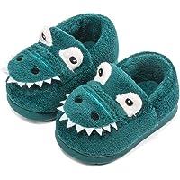 Pantofole Peluche Dinosauro del Fumetto per Ragazzi e Ragazze Inverno Autunno Casa Calda Scarpe da Interno per la casa…
