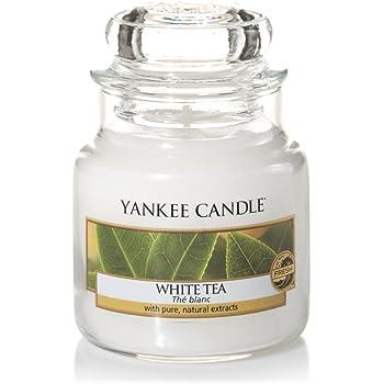 Yankee Candle Small Jar Candle, White Tea