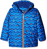 TOM TAILOR Kids Jungen Jacke Allover Printed Jacket, Blau (Strongly Blue 6981), 110