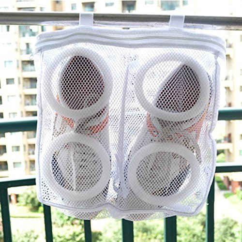 Wildlead Multifunktions Mesh Wäsche Schuhe Speicherorganisator Tasche Schuh Trocken Waschen Taschen - Für Wäsche-waschen Mesh-tasche