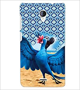 PrintDhaba Cartoon D-4521 Back Case Cover for MICROMAX A106 UNITE 2 (Multi-Coloured)