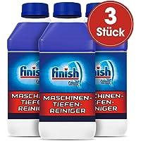 Finish Maschinentiefenreiniger, Spülmaschinenreiniger, Maschinenpfleger gegen Kalk und Fett, 3er Pack (3 x 250 ml)