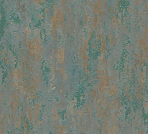 as-creation-vliestapete-8293405-cm-muster-line-havanna-tapete-mehrfarbig