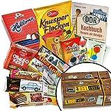 DDR Paket mit Ost Süssigkeiten | Liebesperlen, Kalter Hund, Halloren Kugeln, Butterkeks Wittenberger, Keks Wikana…