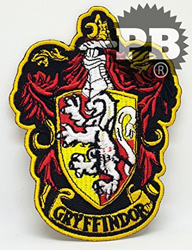 HARRY POTTER Iron Sew on Embroidered Patches (2169 Gryffindor)