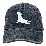 Ocabags Cute Panda Unisex Hat Mens Womens Baseball Hat Hip Hop Casquette Outdoor Sport Cap Adjustable Sunbonnet White