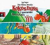 Der kleine Drache Kokosnuss in 3 spannenden Abenteuern: Der kleine Drache Kokosnuss auf der Suche nach Atlantis - Der kleine Drache Kokosnuss bei den Drache Kokosnuss und die starken Wikinger