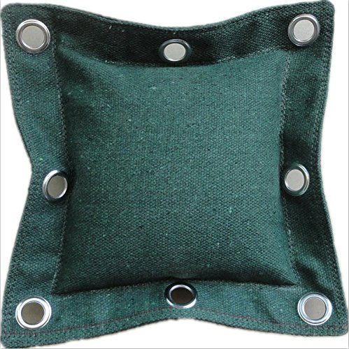 KXCFCYS Sandsack, Stahlring & Bambus Rattan Ring, Trainingsbeutel Wandmakiwara Wing tsun Chun (dbag-Dark Green)