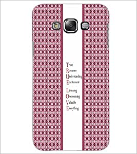 PrintDhaba Quote D-5756 Back Case Cover for SAMSUNG GALAXY E7 (Multi-Coloured)