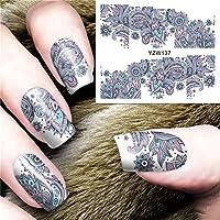VANKER 5 tipos Pegatina Decoracion para las Uñas Decal DIY uñas herramienta de decoración arte adhesivos uñas Pegatinas_YZW137