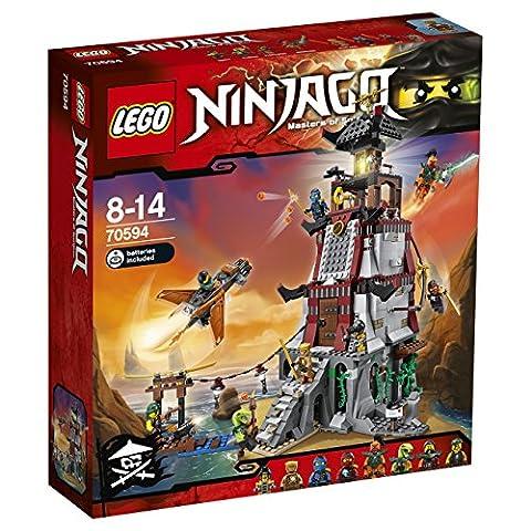 LEGO - 70594 - NINJAGO - Jeu de Construction - L'attaque du Phare