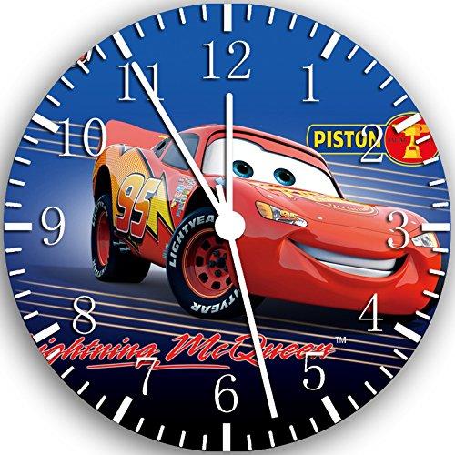 Disney Cars McQueen Wanduhr 25,4 cm Nice Geschenk und Raum Wand Decor W101