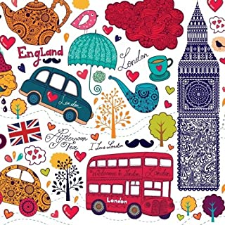 I Love London: Giant 200 Page Book; London Party Decorations in all Departments; London Decorations for Living Room in al; London Desk Accessories in in al; London Decor for Bedroom in al