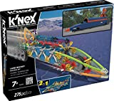 K'NEX Land Rocket Building Set for Ages 7+, Engineering Educational Toy, 275 Pieces