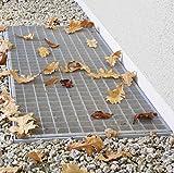 insektenschutz-pro Lichtschachtabdeckung edelstahl 60 x 120cm