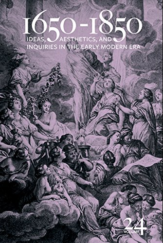 1650-1850: Ideas, Aesthetics, and Inquiries in the Early Modern Era (English Edition)