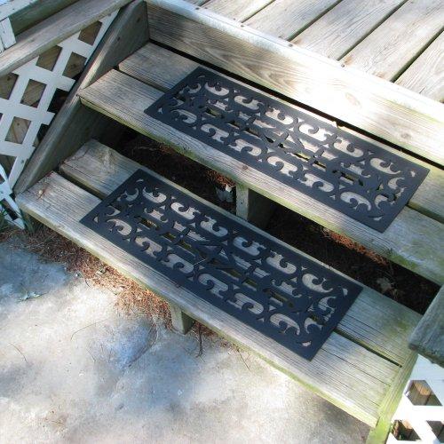 Non-Slip Stair Tread Mats 2 Piece by Pure Garden
