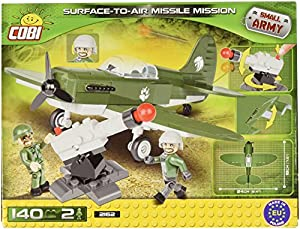 Cobi Small Army-Surface toAir Missile Mission (140 Pcs) Juguete 2162