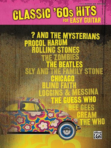 Classic '60s Hits for Easy Guitar (Hits for Easy Guitar Series)
