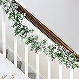 Jiada 5 Fine Quality Garlands For Christmas Home Decor - (5 Ft,Multicolor)