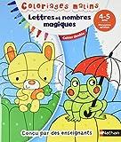 Lettres et nombres magiques, moyenne section 4-5 ans : Cahier double...
