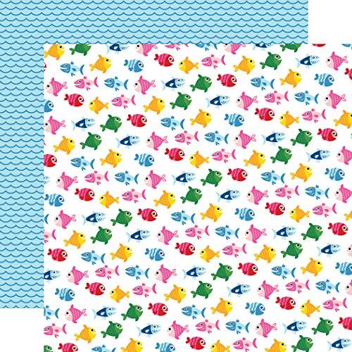 Echo Park Paper Company SU178009 ILS Papier, 30,5 x 30,5 cm, Fisch-Motiv -