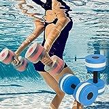 fellibay Schaum Hanteln Wassersport Hanteln Fitness Wasser Aerobic-Training Hand Bars