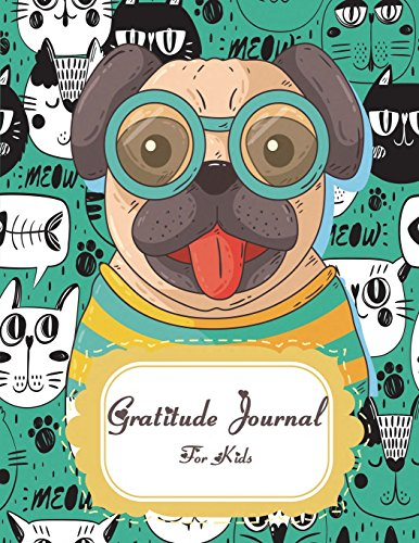Gratitude Journal For Kids: Lovely house, Grateful Journal, Positivity Journal, Daily Inspiration Journal for Daily Thanksgiving & Reflection, Gratitude Prompt. 120 Pages 8.5