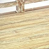 DIVERO 2-Sitzer stabile antike Gartenbank 115 cm massiv Teak-Holz Handarbeit 2 Personen Bank mit Schnitzereien weiß whitewash Vergleich