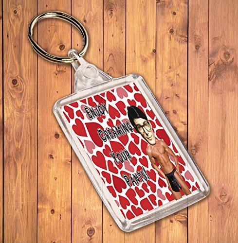 Funny/Rude Geschenk Sexy Hunk Schlüsselanhänger-für die Clark Kent/Superman Admirer (Kent Clark Superman)