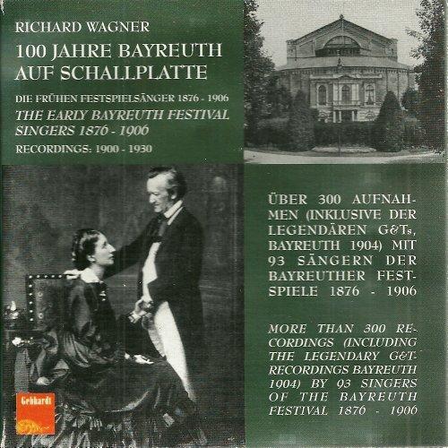 100 Jahre Bayreuth Auf Schallplatte
